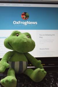 Gregre OxFrogNews BLOG