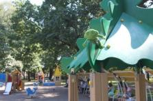 One of Saint Petersbourg's playgrounds - a paradise for children