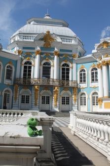 Pushkin Palace (in fact, a little palace in the park)